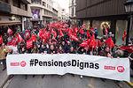 Unas 26.000 personas se manifiestan en Castilla-La Mancha para exigir pensiones dignas