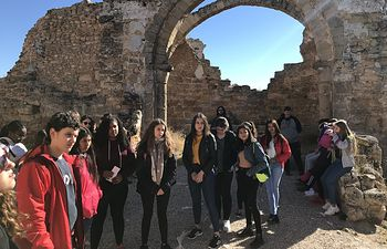 Colegio Melchor Cano de Tarancón visitando Recópolis (Proyecto Viaje a la Alcarria)