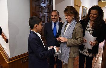 Pleno de la Infancia en las Cortes Regionales con motivo del Día Internacional de la Infancia. (Foto: José Ramón Márquez // JCCM).