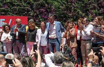 Pedro Sánchez en Córdoba. Foto: Eva Ercolanese