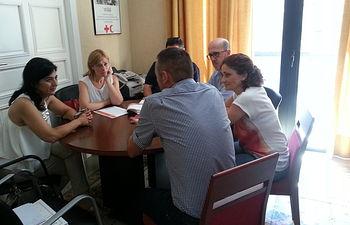 Ciiudadanos Albacete - Reunión Cruz Roja Albacete - 23-07-15