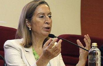 La Ministra Ana Pastor (Foto:archivo)