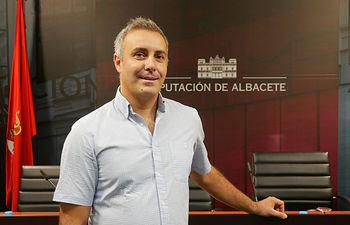 José Ignacio Díaz Huedo, diputado provincial de Ganemos-IU Albacete