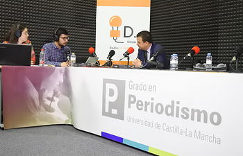 Día de la Radio en la Facultad de Periodismo.