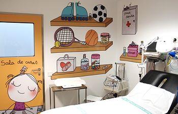 Decoración Pediatría HGUCR