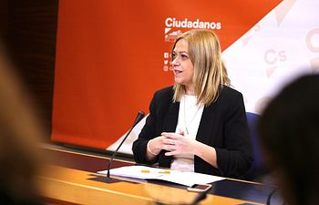 Carmen Picazo, portavoz del Grupo Parlamentario Ciudadanos.