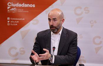 David Muñoz Zapata, diputado regional de Ciudadanos en las Cortes de Castilla-La Mancha.