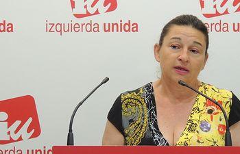 Olga Ávalos, Responsable de Conflictos Sociales IU CLM.