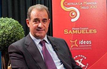 Francisco Pardo, presidente de las Cortes de Castilla-La Mancha.