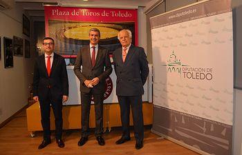 Álvaro Gutiérrez, Eduardo Martín-Peñato y Fernando Muñoz.