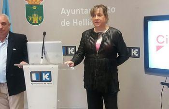 María Jesús López Iniesta, concejal de Ciudadanos en el Ayuntamiento de Hellín.