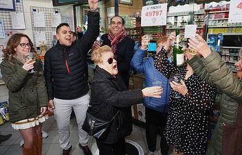 49797, cuarto premio de la Lotería Nacional 2019. Foto: Manuel Lozano Garcia / La Cerca