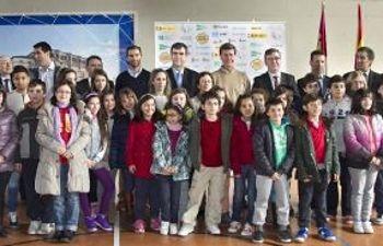 Promotores y participantes del programa Sport&Trops de Guadalajara