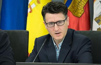 Pedro Soriano, concejal no adscrito del Ayuntamiento de Albacete.