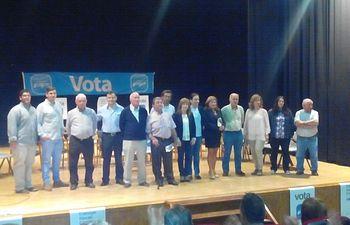 Candidatura del PP para el Ayuntamiento de Yeste.