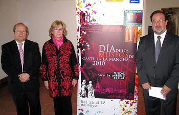 La consejera de Cultura, Turismo y Artesanía, Soledad Herrero, informó, en el Museo de Santa Cruz de Toledo, sobre las actividades organizadas con motivo del Día Internacional de los Museos.