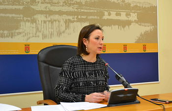 La portavoz del equipo de Gobierno de Talavera, María Rodríguez.