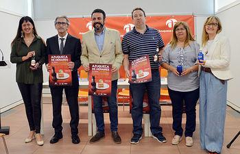"""Presentación """"Azuqueca de Henares es para comérsela"""". Es de Álvaro Díaz Villamil/ Ayuntamiento de Azuqueca"""
