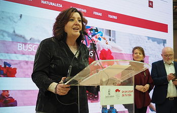Stand de Castilla-La Mancha en FITUR 2020. Foto: Manuel Lozano Garcia / La Cerca