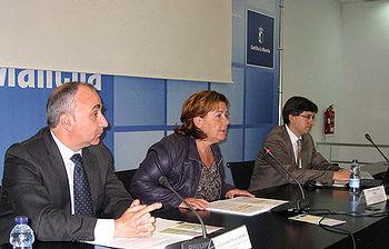 Paula Fernández presentó esta semana la nueva Guía de Movilidad Laboral del Gobierno regional y RACE