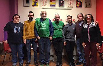 Candidatos de Unidas Podemos al Congreso y Senado y miembros de la Marea Verde de Albacete