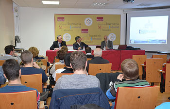 De izqda. a dcha.: José Carlos Losilla, Francisco Mata y Alejandro Marugán.