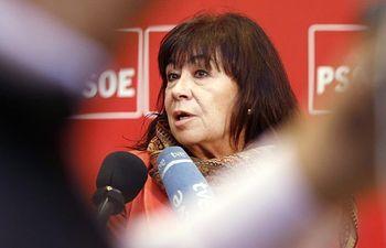 Cristina Narbona, presidenta del PSOE.