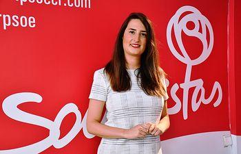 Cristina López Zamora, candidata al Congreso de los Diputados, por la provincia de Ciudad Real.