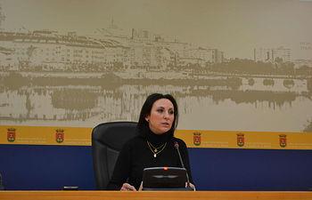 María Rodríguez, portavoz del equipo de Gobierno.