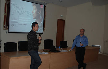A la derecha, Antonio Arteaga.