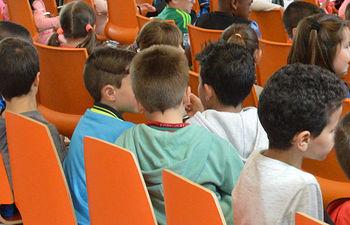 Imagen de archivo de escolares de Azuqueca. Fotografía: Álvaro Díaz Villamil/ Ayuntamiento de Azuqueca