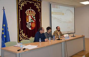 De izqda. a dcha.: José María Coronado, David Sánchez y Jesús López.