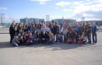 Los alumnos de la ADE en Madrid