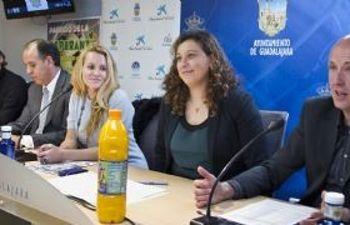 Presentación del partido a beneficio de GENEFA y la Asociación contra la Leucodistrofia Guadalajara