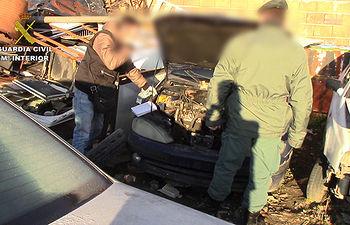 La Guardia Civil descubre una organización dedicada a la gestión ilegal de residuos en Pantoja (Toledo)