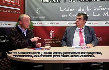 Fernando Lamata y Roberto Sabrido.