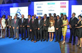 Premiados en los Premios Empresariales San Juan 2015
