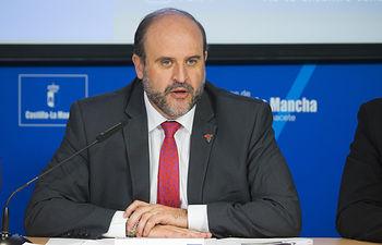 José Luis Martínez Guijarro, vicepresidente del Gobierno de Castilla-La Mancha.