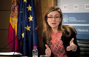 Marta Fernández Currás, secretaria de Estado de Presupuestos y Gastos (Foto archivo de EFE)