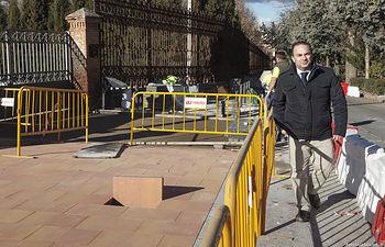 Información sobre proyecto de mejora de la seguridad vial en Santa María Micaela y Francisco Aritmendi, Obras Paseo de San Roque