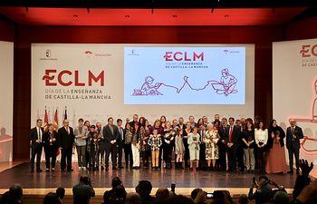Acto institucional del Día de la Enseñanza que se ha celebrado en Ciudad Real.