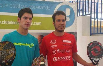 David Leal vuelve a ser campeón de padel de Castilla-La Mancha