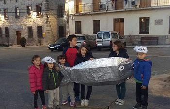 Entierro de la Sardina. Paareja (Guadalajara)