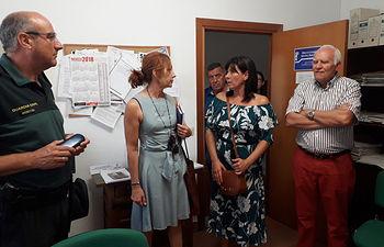 La alcaldesa de Torre de Juan Abad y la Subdelegación del Gobierno confirman la permanencia de la Guardia Civil en el municipio