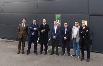El Comité Ejecutivo de CEOE CEPYME Cuenca conoce las nuevas instalaciones de Mercadona.