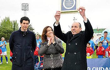 Celebración del CD Ciudad Real