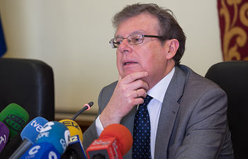 Miguel Ángel Collado, rector de la Universidad de Castilla-La Mancha.