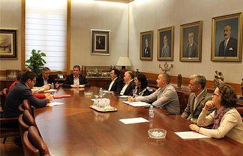 Se constituye la Mesa por el Empleo en la Diputación de Albacete