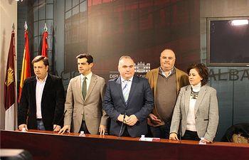 Diputación y Gobierno regional presentan los actos del Día de Albacete en Fitur 2015, que se celebra el próximo jueves