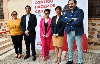 Presentación candidatura Pilar Zamora.